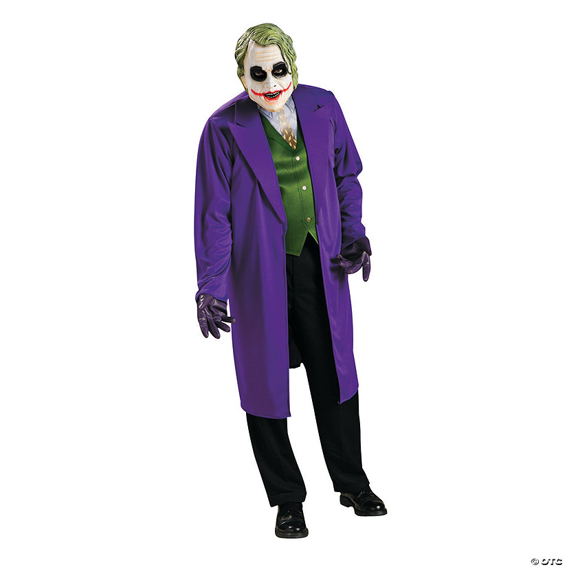 Men's Dark Knight Joker Costume Audio Thumbnail