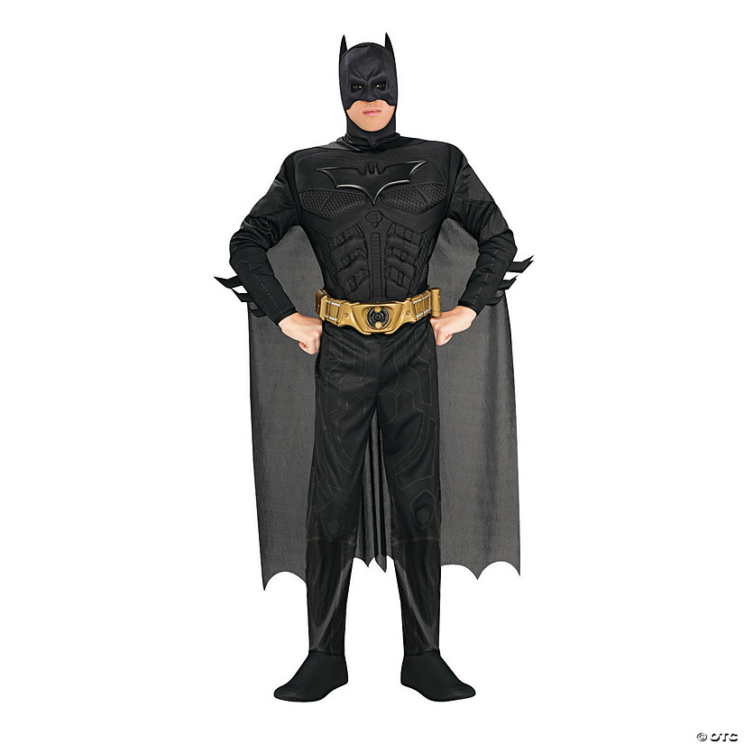 Men's Deluxe Dark Knight Batman Costume