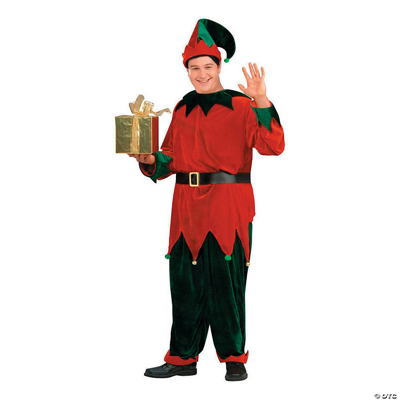 Men's Deluxe Elf Costume - Extra Large