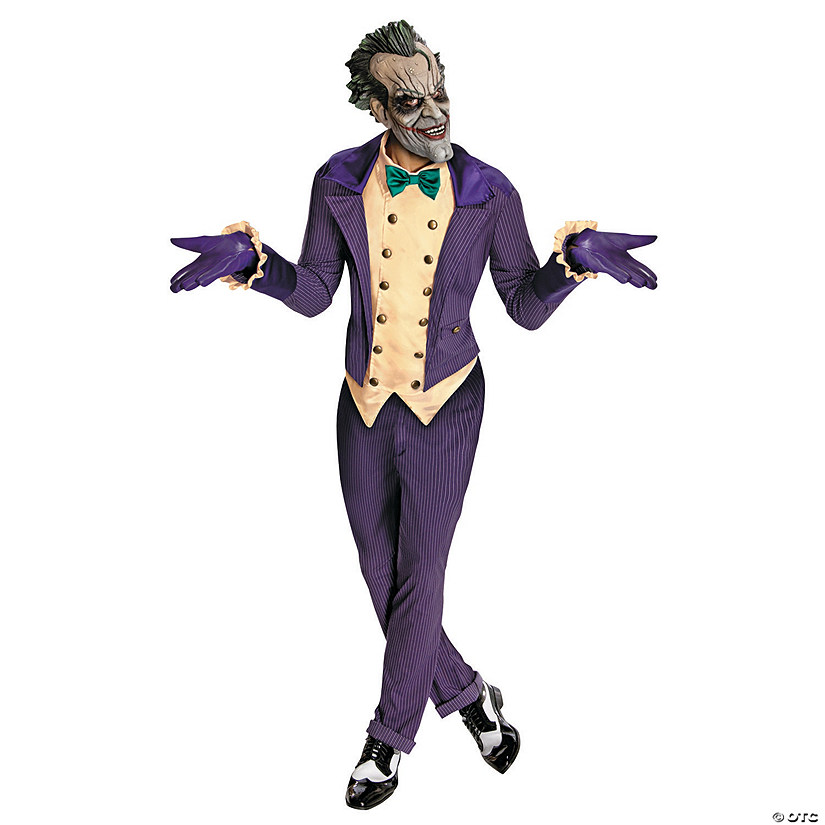 Men's Deluxe Joker Costume