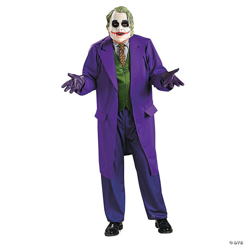 Men's Deluxe Joker Costume Audio Thumbnail