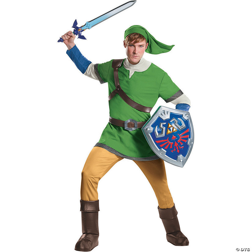 Men's Deluxe Legend of Zelda Link Costume Audio Thumbnail