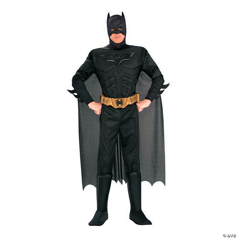 Men's Deluxe Muscle Chest Batman™ Costume Audio Thumbnail