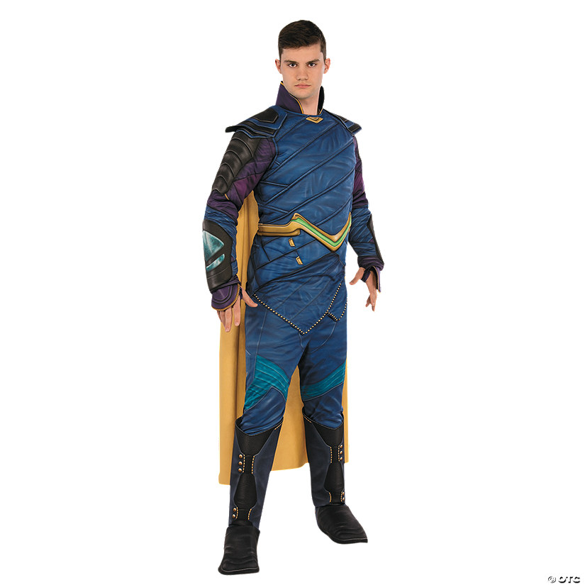 Men's Deluxe Muscle Chest Loki Costume