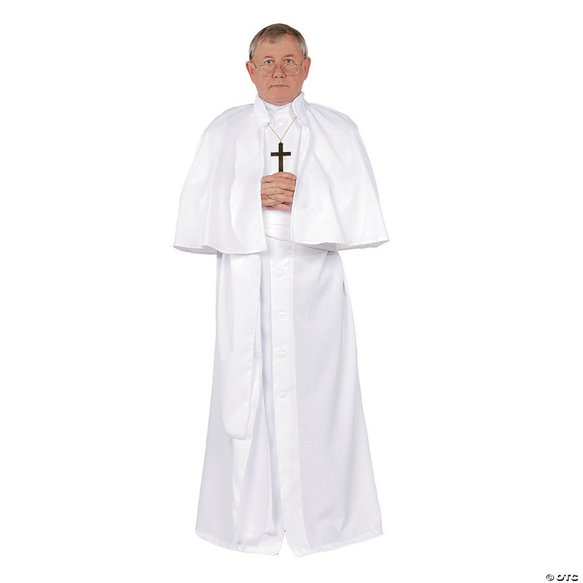 Men's Deluxe Pope Costume - Extra Large Image Thumbnail