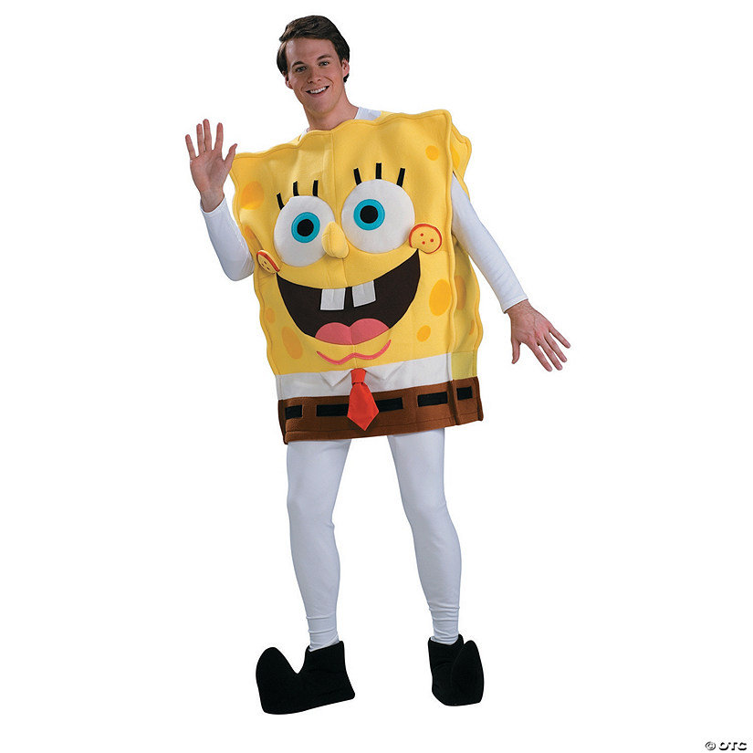 Men's Deluxe Spongebob Costume