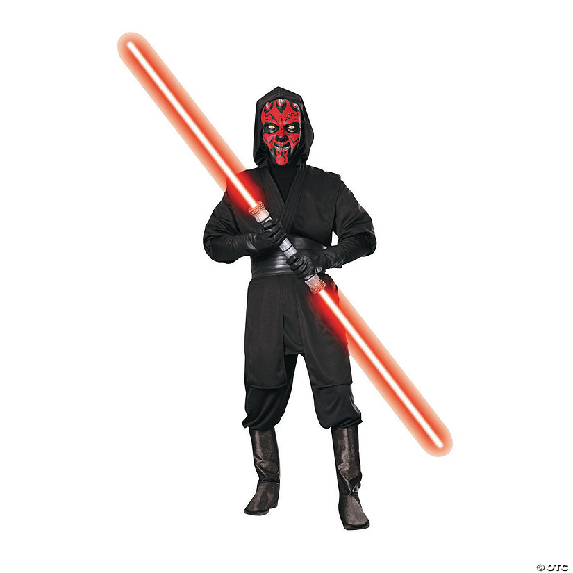 Men's Deluxe Star Wars™ Darth Maul Costume Audio Thumbnail