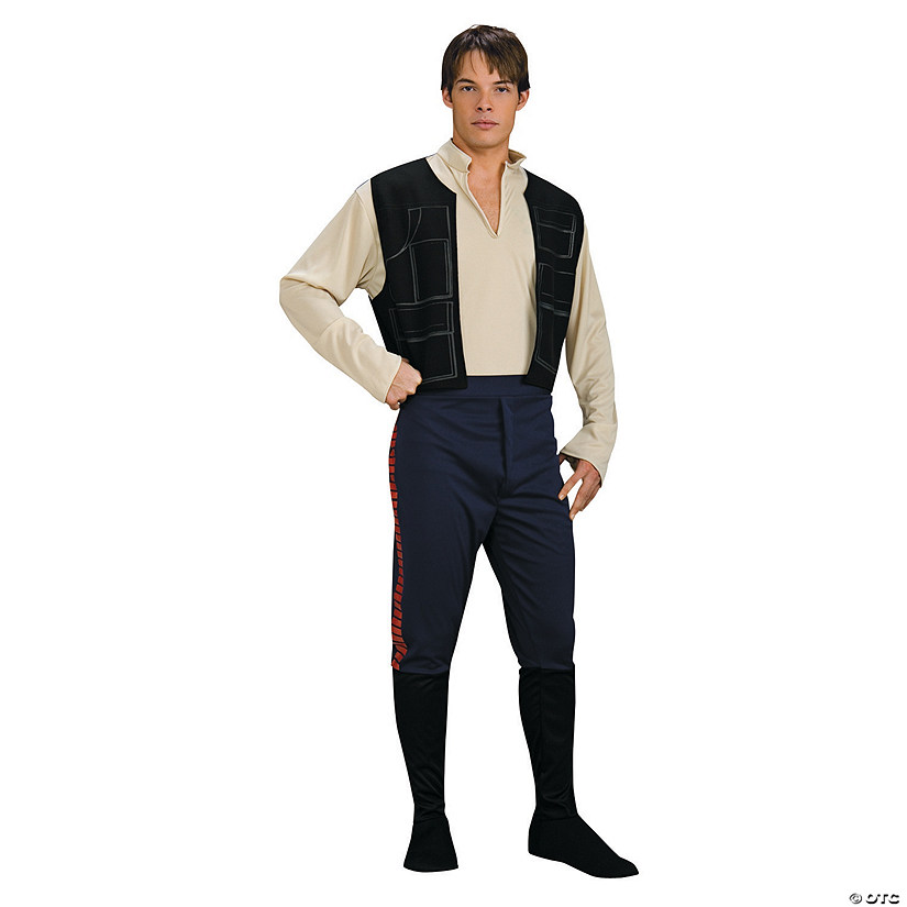 Men's Deluxe Star Wars™ Han Solo Costume Audio Thumbnail