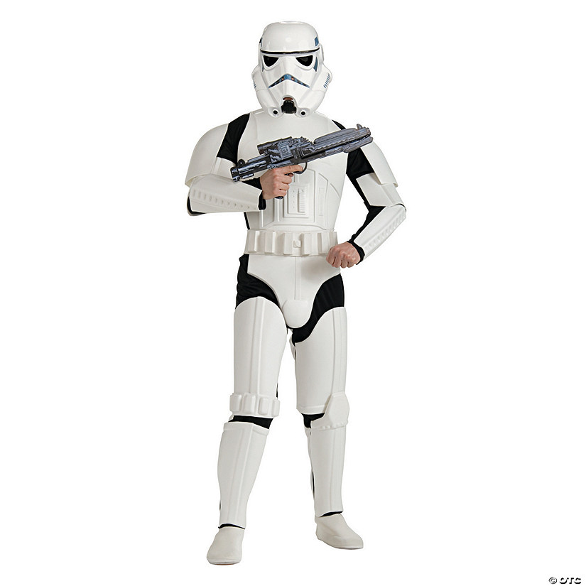 Men's Deluxe Star Wars™ Stormtrooper Costume Audio Thumbnail