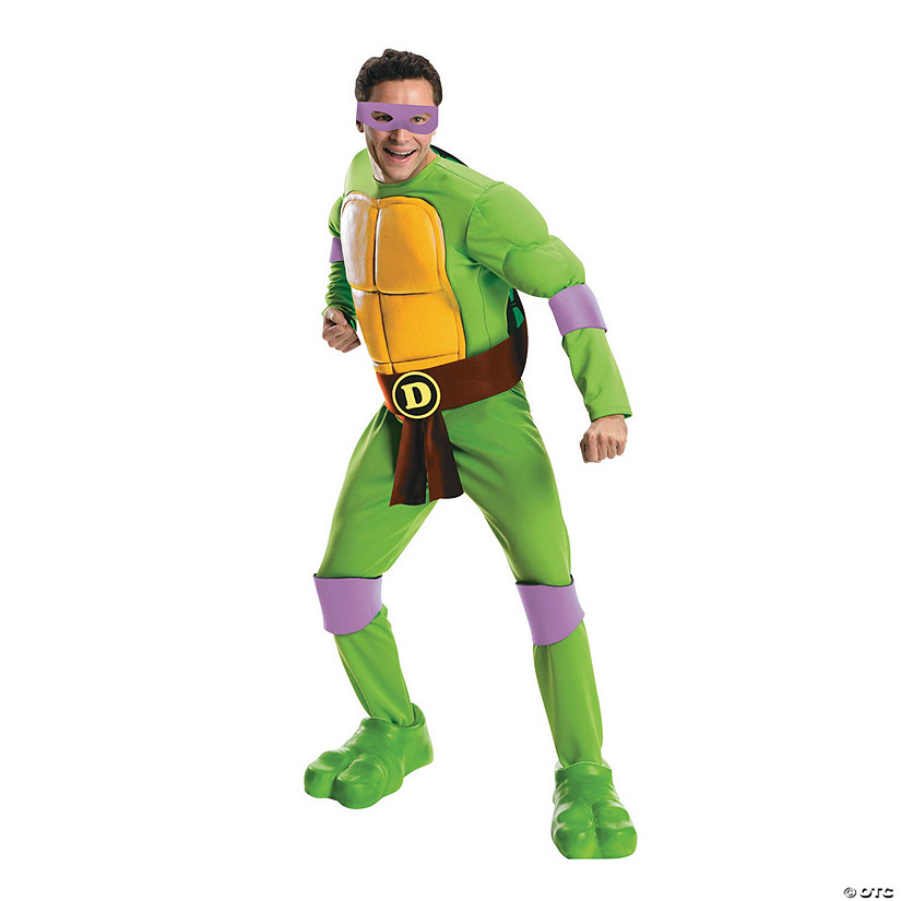 Men's Deluxe Teenage Mutant Ninja Turtle Donatello Costume