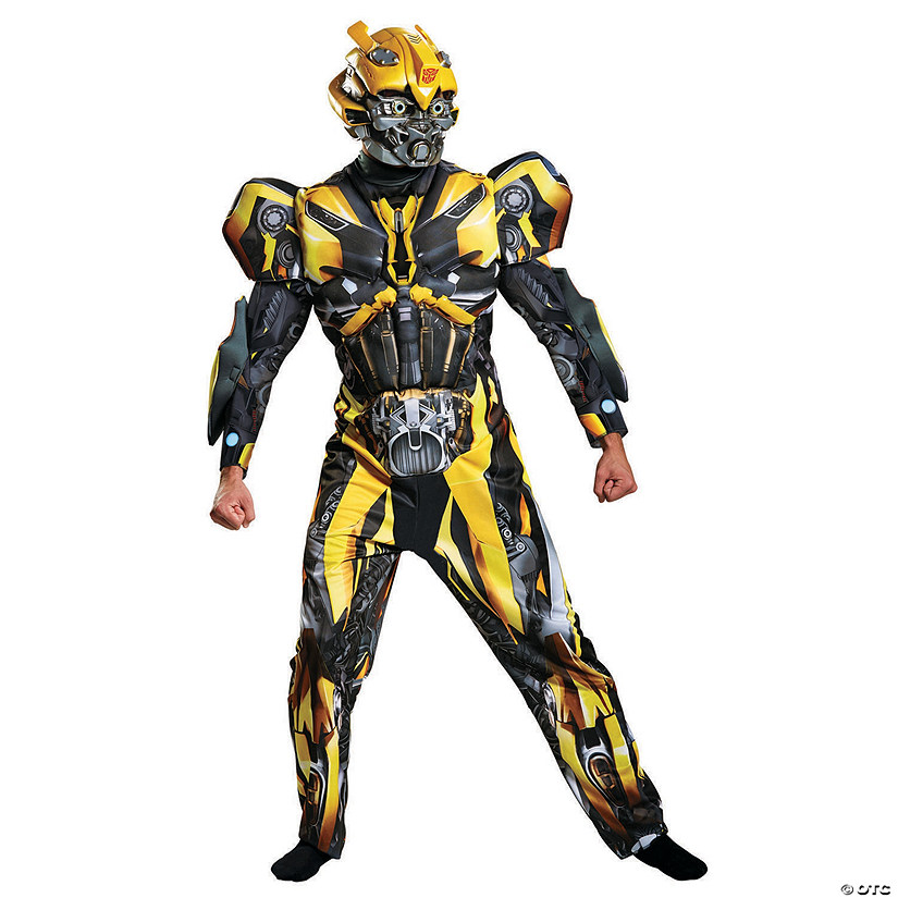 Men's Deluxe Transformers Bumblebee Costume Audio Thumbnail