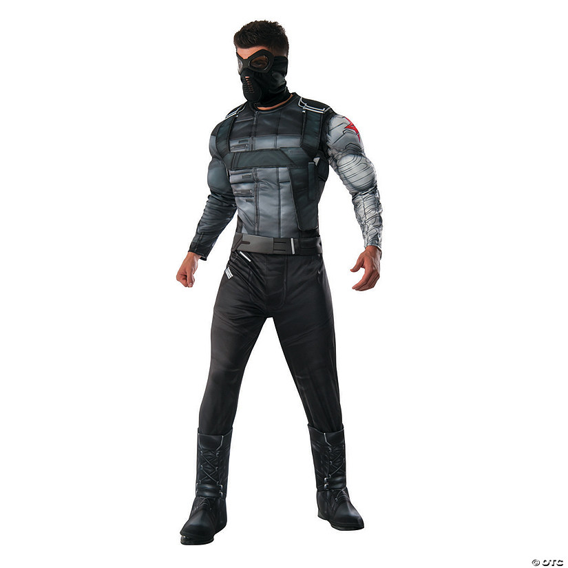 Men's Deluxe Winter Solider Costume