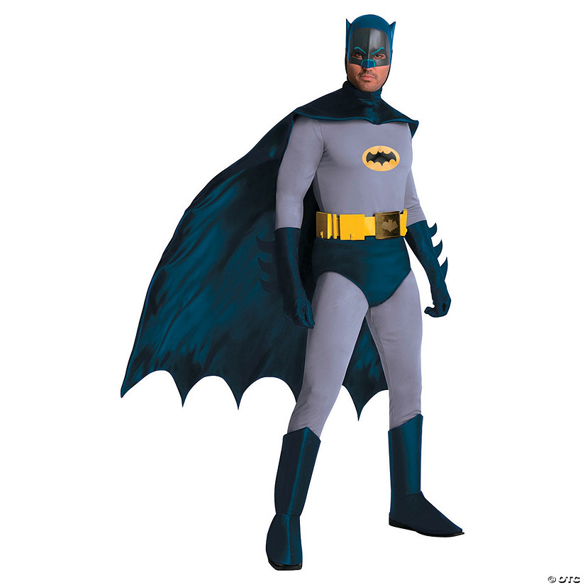 Men's Grand Heritage Comic Batman Costume - Extra Large Audio Thumbnail
