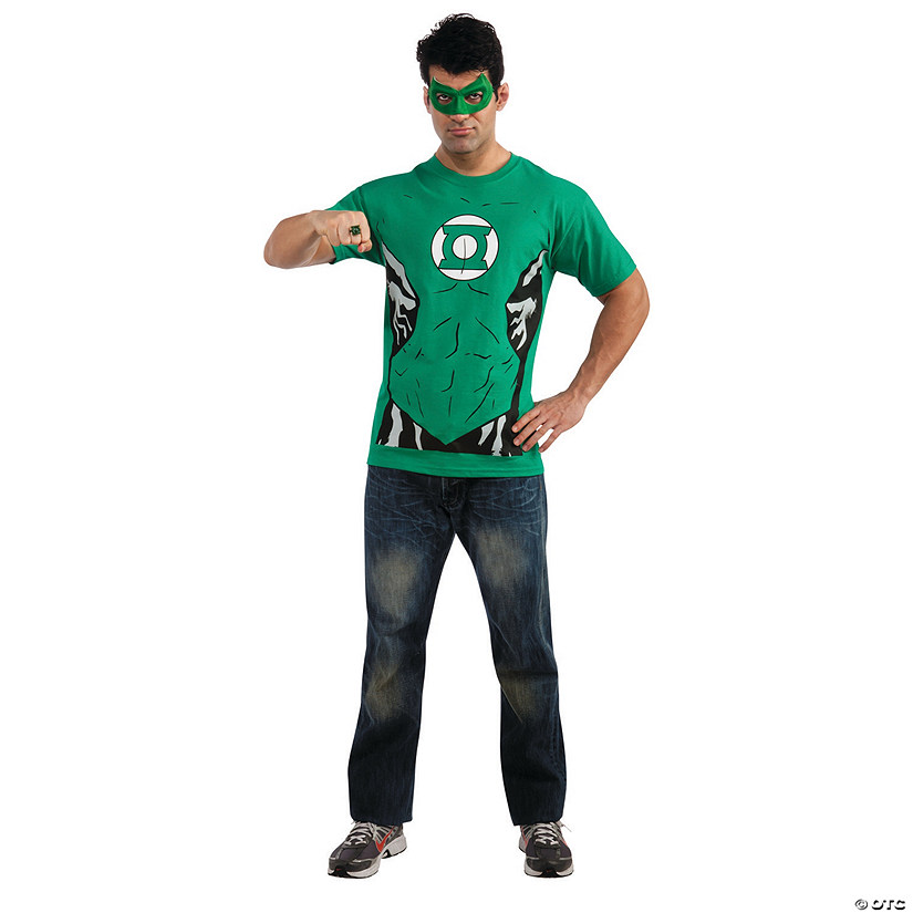 Men's Green Lantern™ Shirt Costume Audio Thumbnail