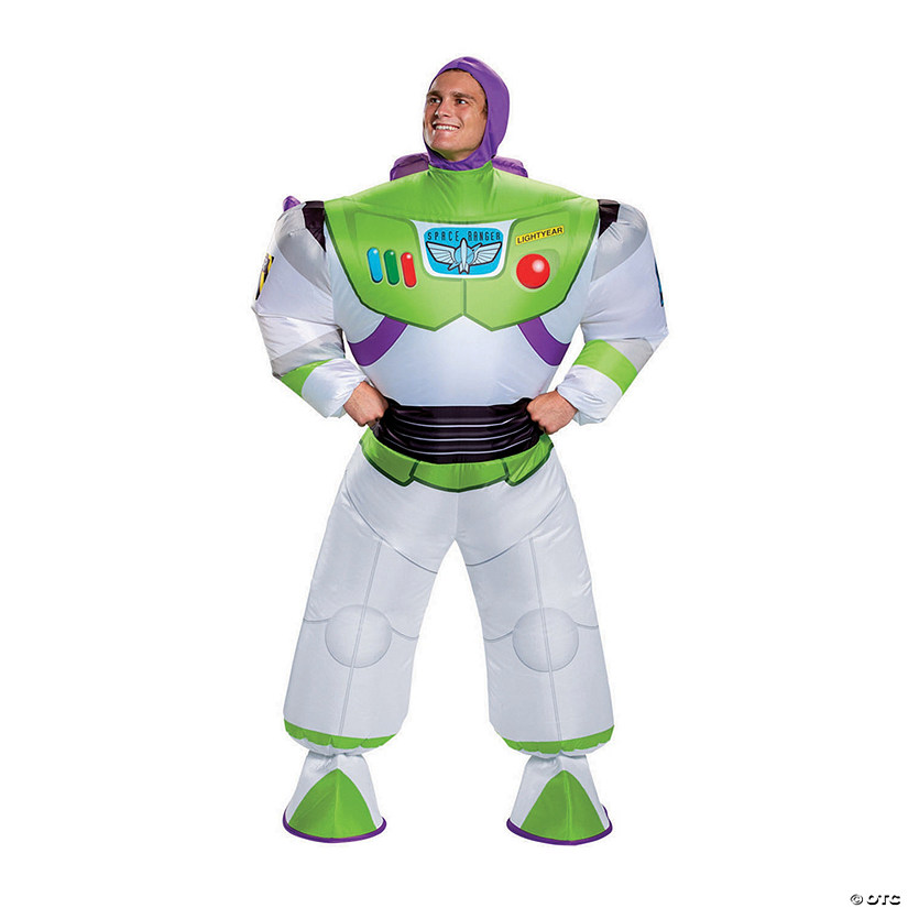 Men's Inflatable Toy Story 4™ Buzz Lightyear Costume Audio Thumbnail