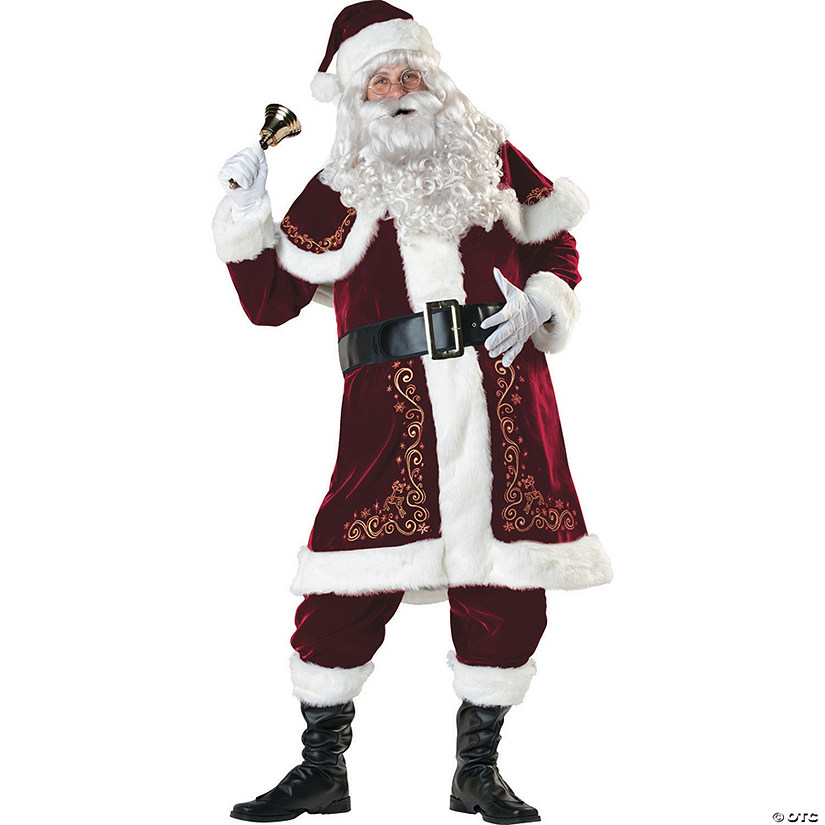 Men's Jolly Ol' St Nick Costume Audio Thumbnail