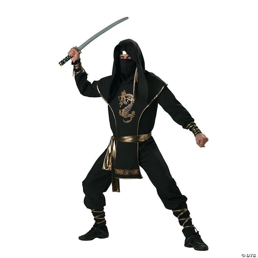 Ninja Halloween Costume Men.Men S Ninja Warrior Costume