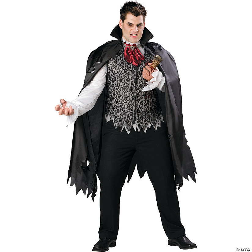 Men's Plus Size Vampire B Slayed Costume