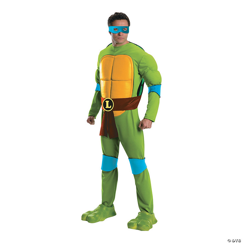 Men's Premium Teenage Mutant Ninja Turtle Leonardo Costume Audio Thumbnail