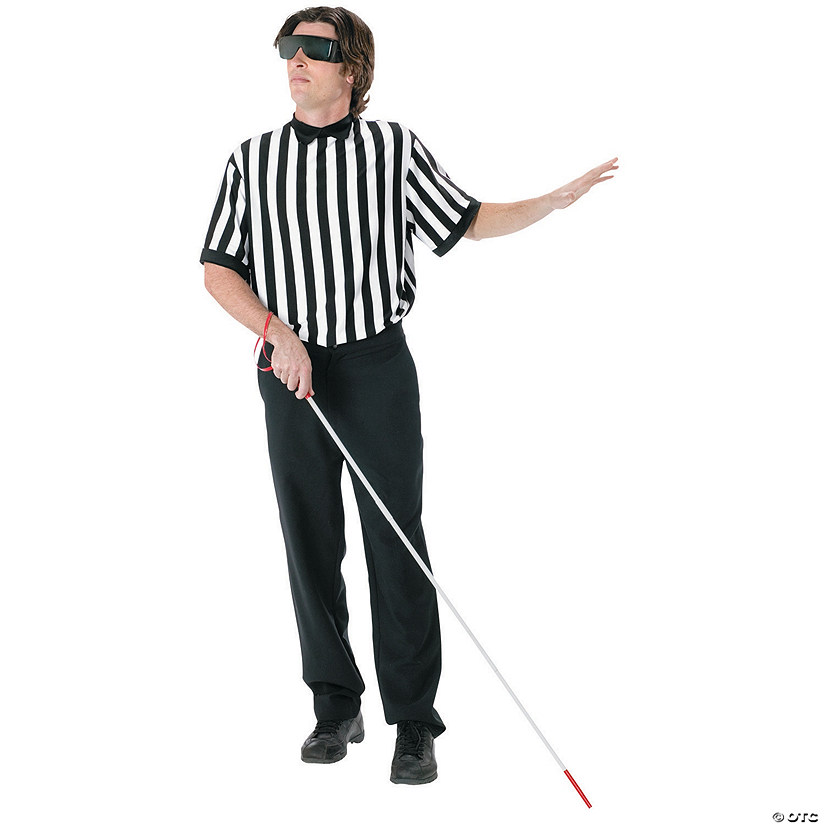 Men's Referee Blind Kit Costume