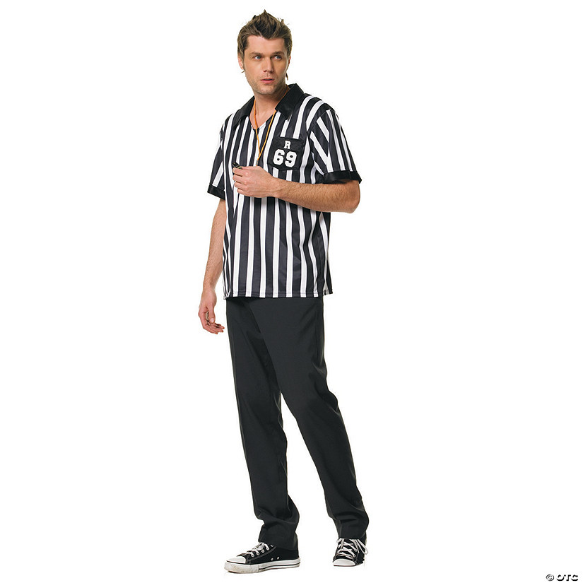 Men's Referee Shirt Costume Audio Thumbnail