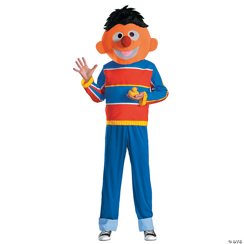 Men's Retro Sesame Street Ernie Costume