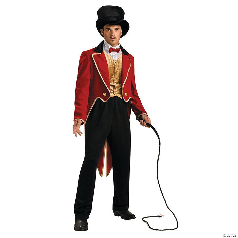 Men's Ring Master Costume