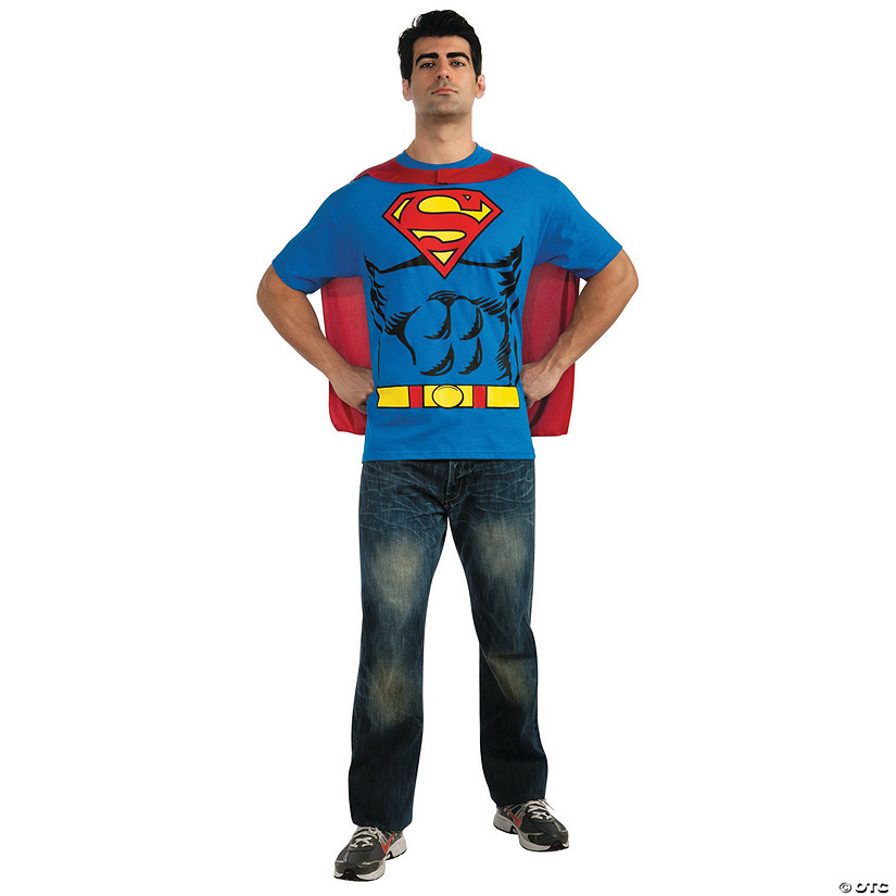Men's Shirt Superman™ Costume