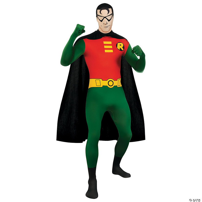 Men's Skin Suit Robin Costume