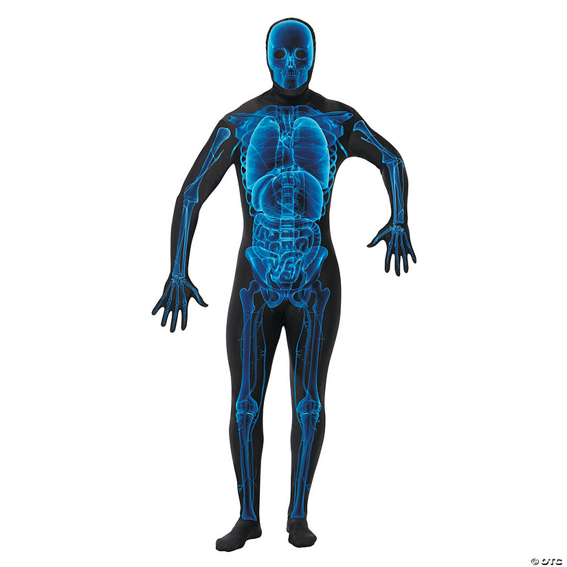 Men's Skin Suit X-Ray Costume