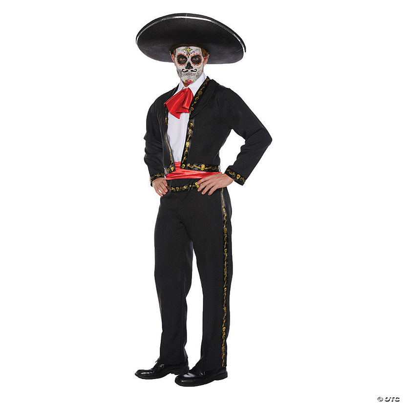 Men's Skull Mariachi Costume Audio Thumbnail