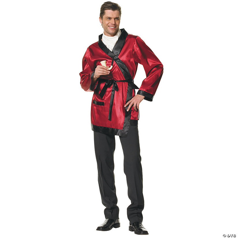 Men's Smoking Jacket Bachelor Costume