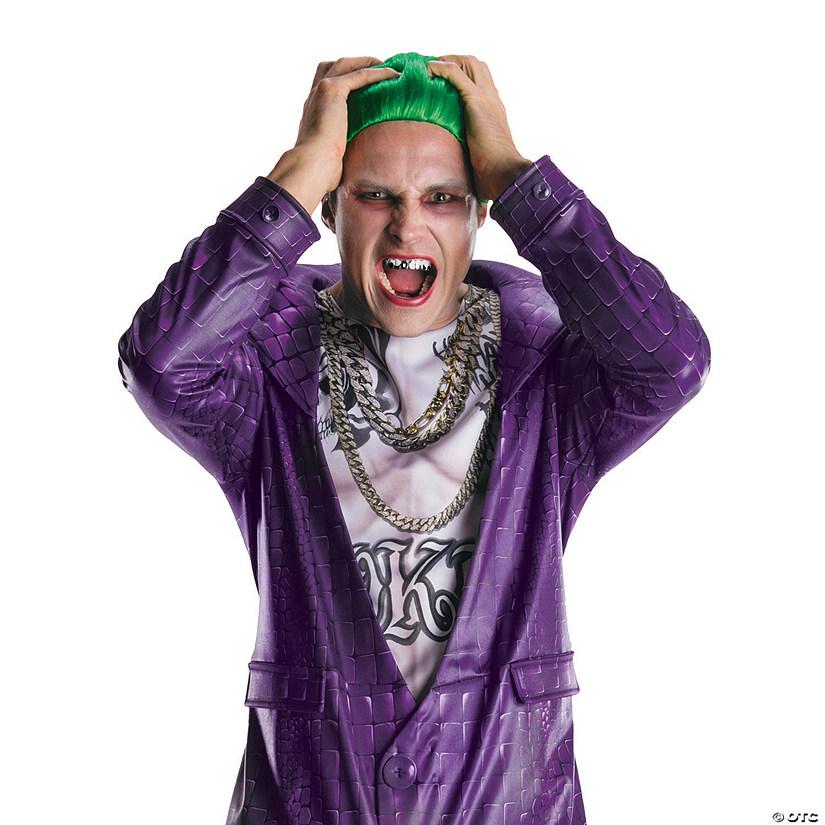 Suicide Squad Joker Halloween Costume.Men S Suicide Squad The Joker Teeth