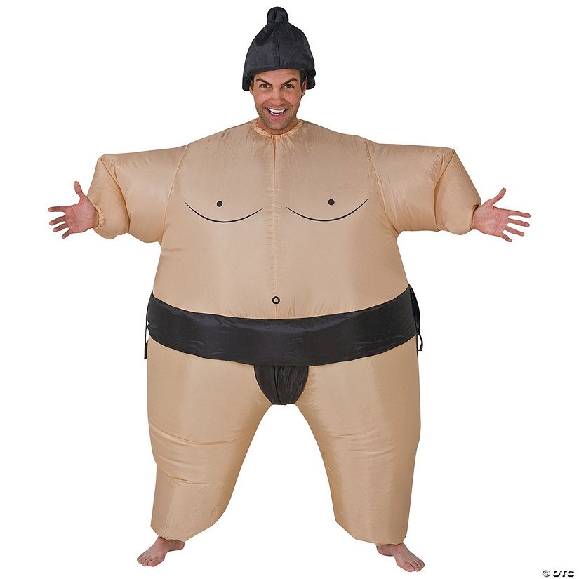 Men's Sumo Wrestler Inflatable Audio Thumbnail