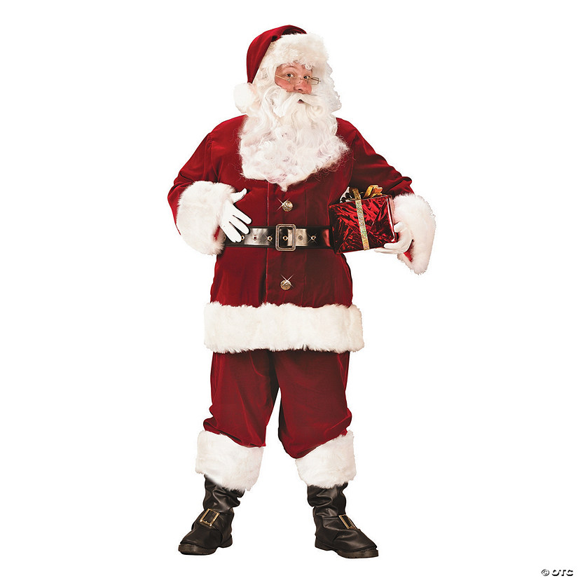 Men's Super Deluxe Santa Suit Costume Audio Thumbnail