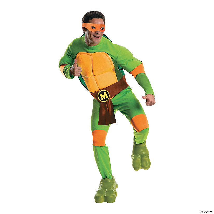 Men's Teenage Mutant Ninja Turtles Michelangelo Costume Audio Thumbnail