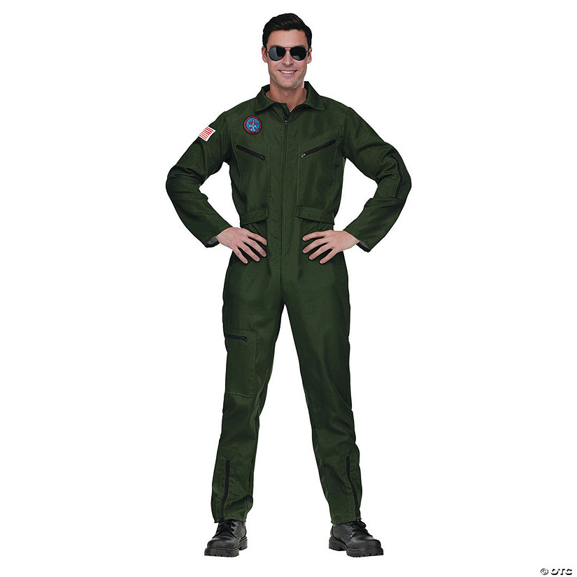 Men's Top Gun Aviator Costume Audio Thumbnail