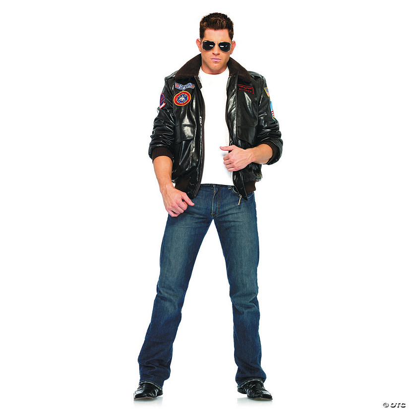 Men's Top Gun Jacket Costume