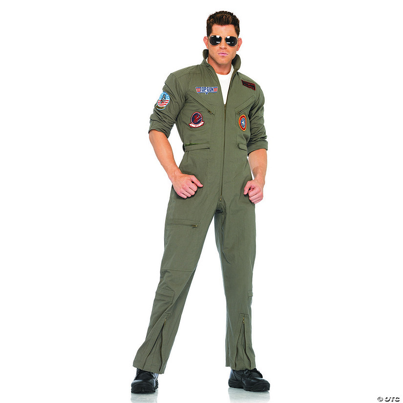 Men's Top Gun Jumpsuit Costume Audio Thumbnail