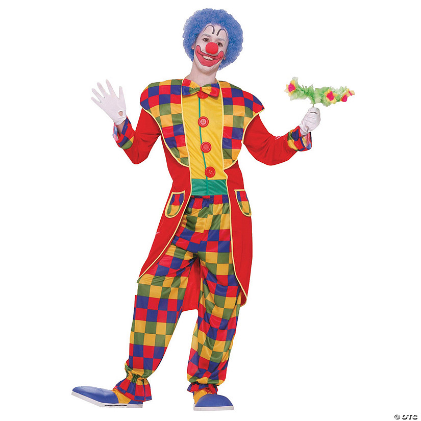 Men's Tuxedo Clown Costume