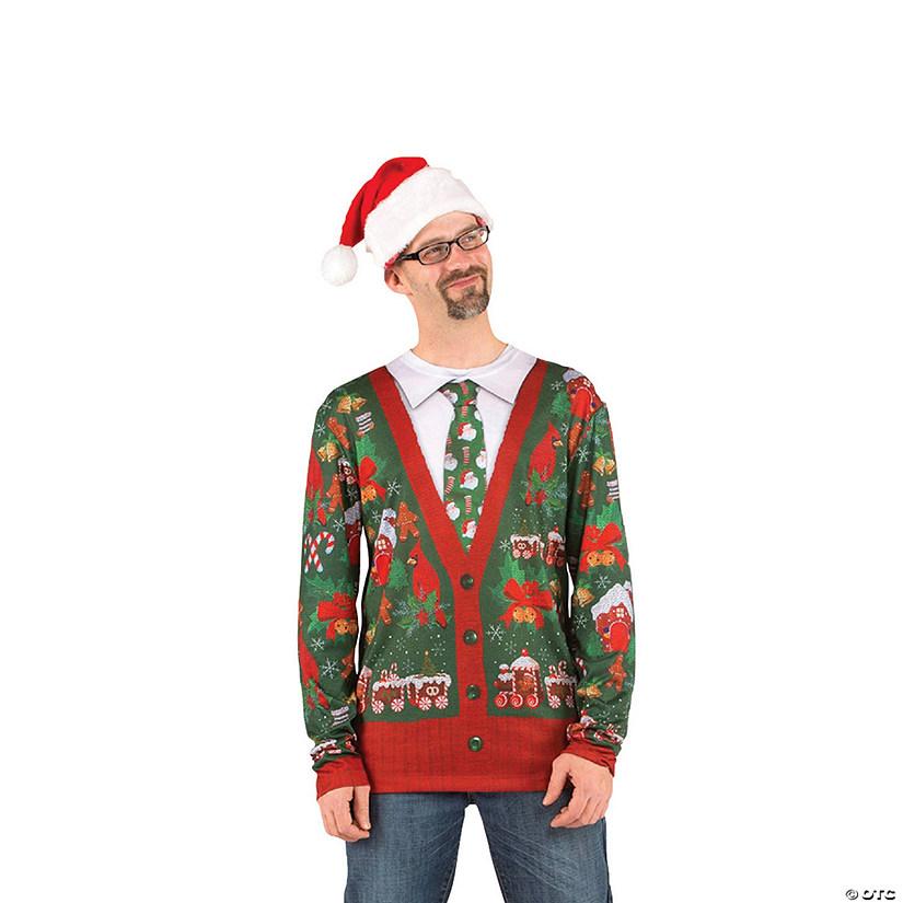 Men\u0027s Ugly Christmas Sweater T-Shirt Costume