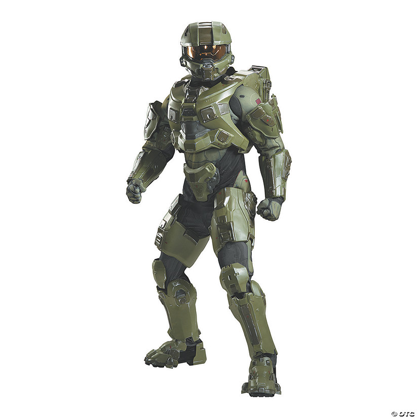 Men's Ultra Prestige Master Chief Costume Audio Thumbnail