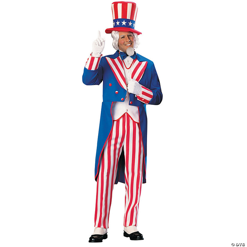 Men's Uncle Sam Costume Audio Thumbnail