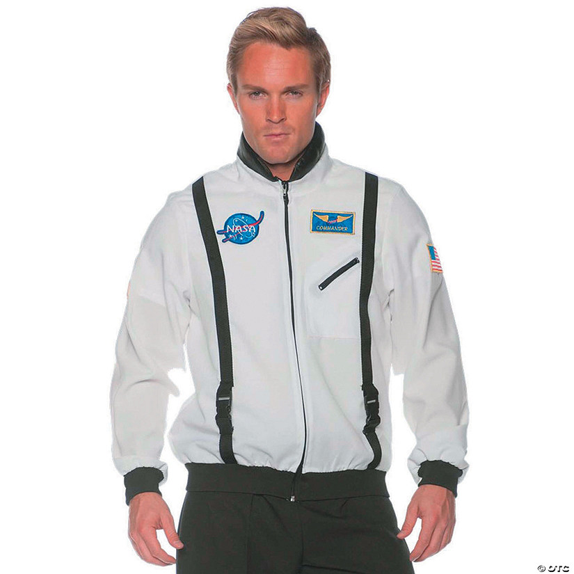 Men's White Space Jacket Audio Thumbnail
