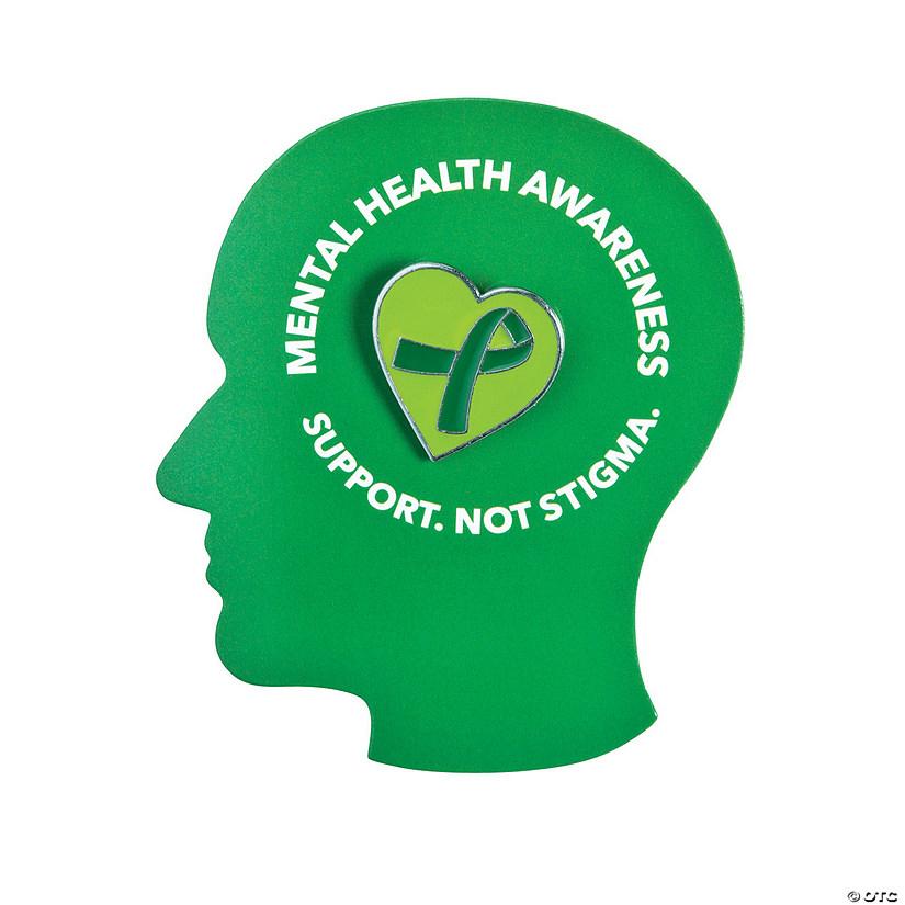 Mental Health Awareness Pins On Card