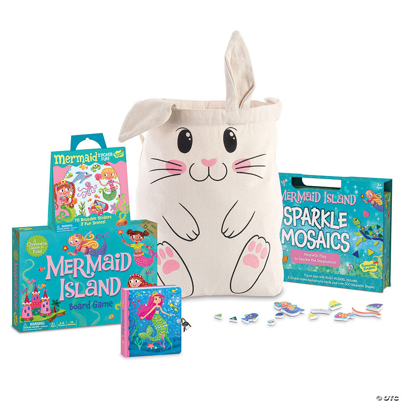 Mermaid Easter Basket: Ages 3+ Image Thumbnail
