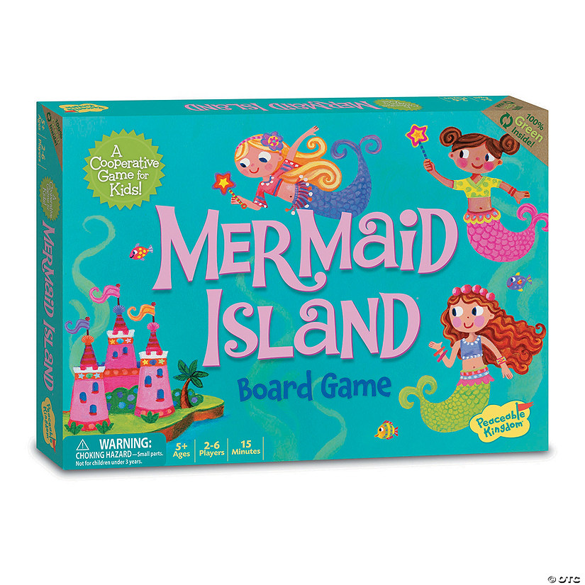Mermaid Island Cooperative Game Image Thumbnail