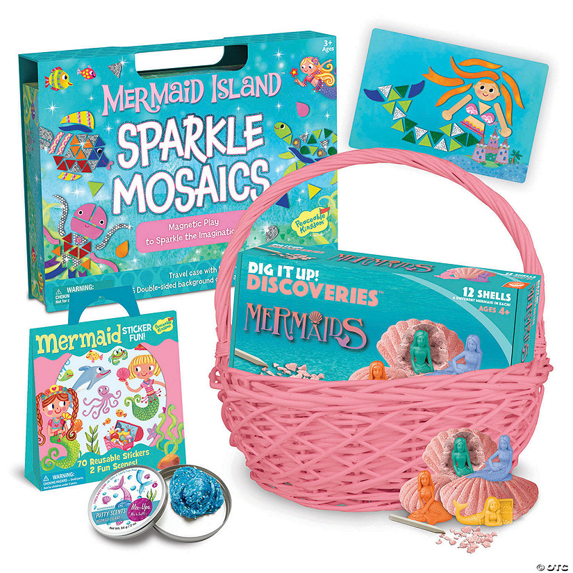 Mermaids Easter Basket: Ages 3 - 4 Audio Thumbnail