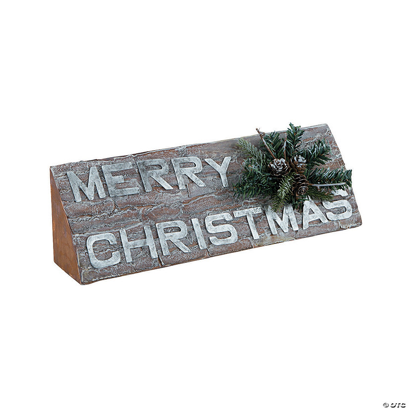 Merry Christmas Tabletop Sign