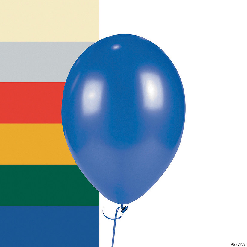 "Metallic 11"" Latex Balloons Image Thumbnail"